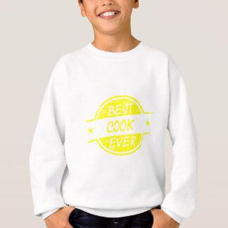Best Cook Ever Yellow Sweatshirt