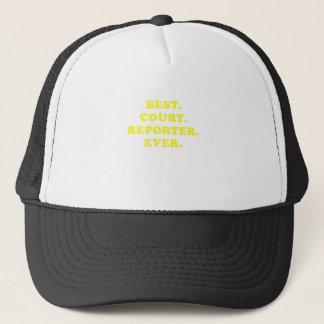 Best Court Reporter Ever Trucker Hat
