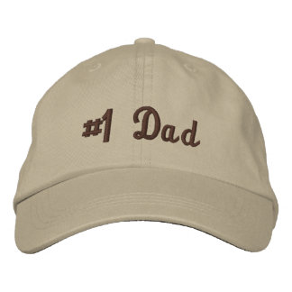 Best Dad Embroidered Hat