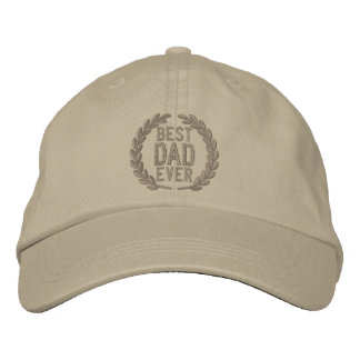 Best Dad Ever All Star SuperDad Embroidery Baseball Cap