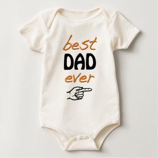Best Dad Ever Baby Bodysuit