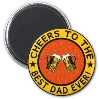 BEST DAD EVER custom magnet