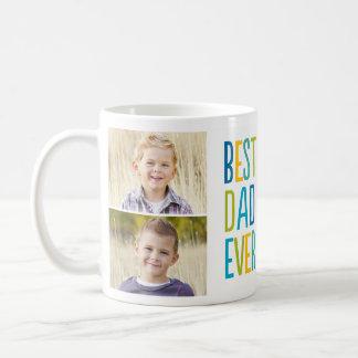 Best Dad Ever Custom Photo Mug Coffee Mugs