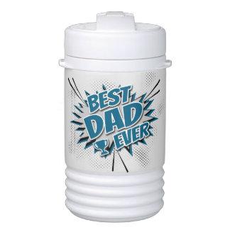 Best Dad Ever Drinks Cooler