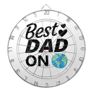Best dad Ever father Day men Dartboard