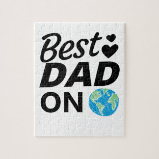 Best dad Ever father Day men Jigsaw Puzzle