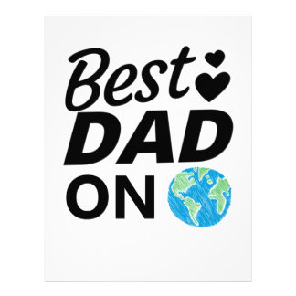 Best dad Ever father Day men Letterhead