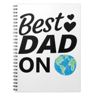 Best dad Ever father Day men Notebook