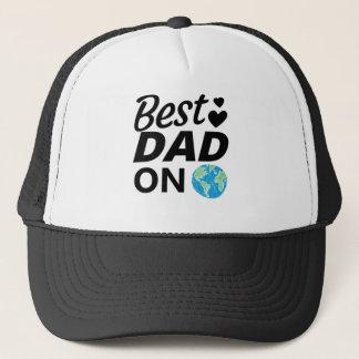 Best dad Ever father Day men Trucker Hat