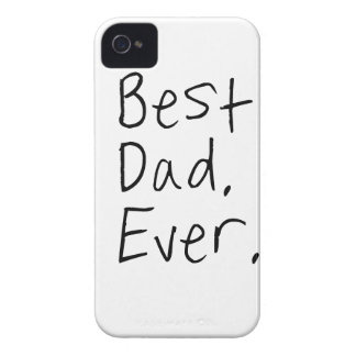 Best dad ever. Father's day gift iPhone 4 Case-Mate Case