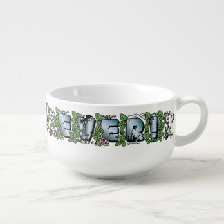 Best Dad Ever!-Father's Day Jungle Txt Soup Mug #5