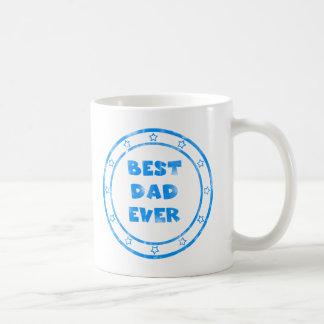 Best Dad Ever Grugne Stamp Mug