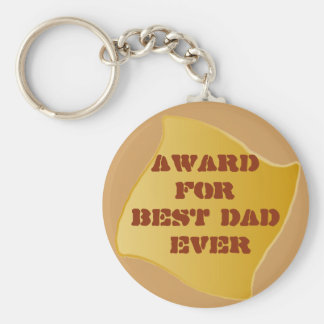 Best Dad ever! Keychain