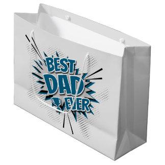 Best Dad Ever Large Gift Bag