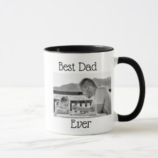Best Dad Ever Photo Personalized Photo Coffee Mug