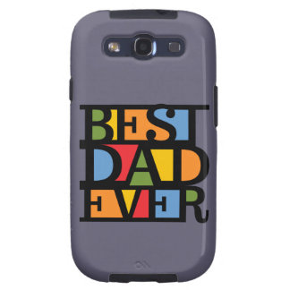 BEST DAD EVER Samsung case