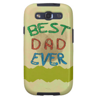 BEST DAD EVER Samsung Galaxy S 3 Case