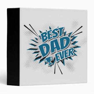 Best Dad Ever Vinyl Binder