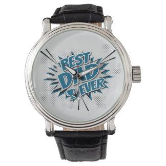 Best Dad Ever Wristwatch