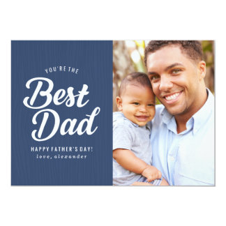 Best Dad | Father's Day Photo Card