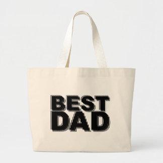 Best Dad Illusional Design Bag