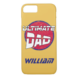 Best Dad Logo with Customizable Name and Colours iPhone 7 Case