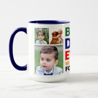 Best Dad Love Forever Photo Large Coffee Cup