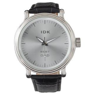 BEST DAD | monogram Wristwatches