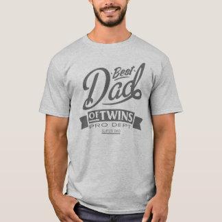 Best Dad Of Twins Pro Dept. Super Dad T-Shirt