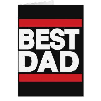Best Dad Red Card