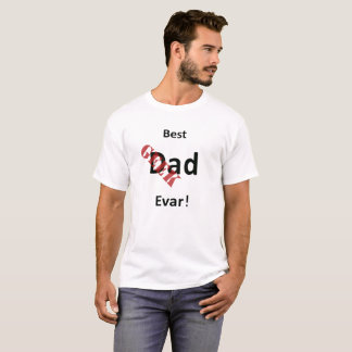 Best Dad T-Shirt With Geek Stamp Of Approval