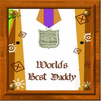 Best DAddy Medal Photo Sculpture