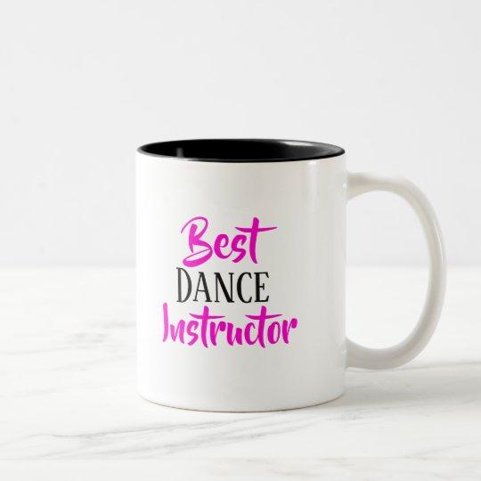 Best dance instructor mug