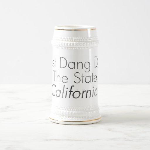 Best Dang Dad - California Coffee Mug