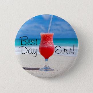 Best Day Beach 2 Inch Round Button