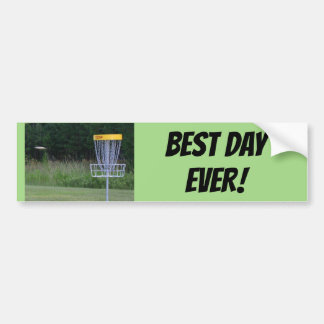 Best Day Ever Bumper Sticker