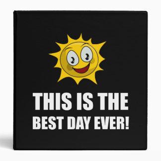 Best Day Ever Sunshine Binders