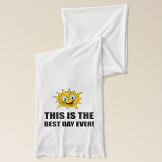Best Day Ever Sunshine Scarf