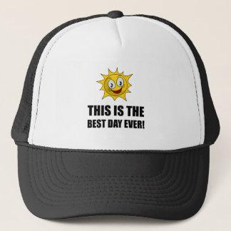 Best Day Ever Sunshine Trucker Hat