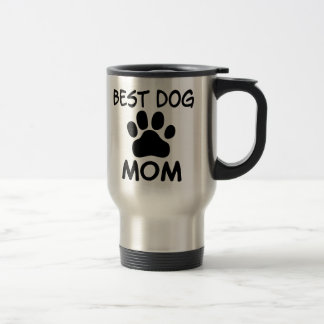 Best Dog Mom Shirts, Magnets, Buttons & More Travel Mug