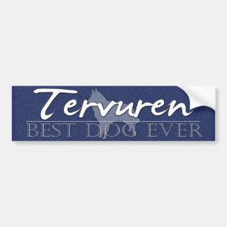 Best Dog Tervuren Bumper Sticker