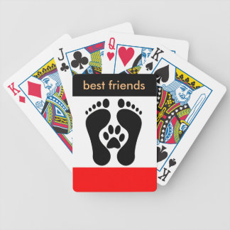 Best Dogs For Kids, Men, Ladies Are Friedly Paws, Bicycle Playing Cards