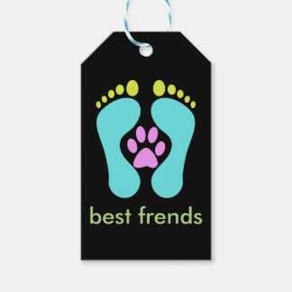 Best Dogs For Kids, Men, Ladies Are Friedly Paws, Gift Tags