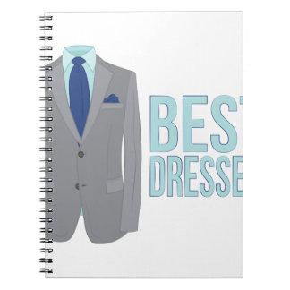 Best Dressed Note Books