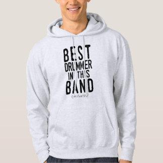 Best Drummer (probably) (blk) Hoodie