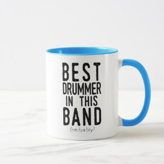 Best Drummer (probably) (blk) Mug