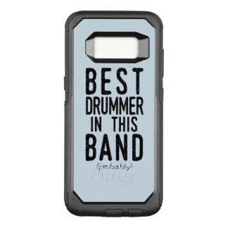 Best Drummer (probably) (blk) OtterBox Commuter Samsung Galaxy S8 Case