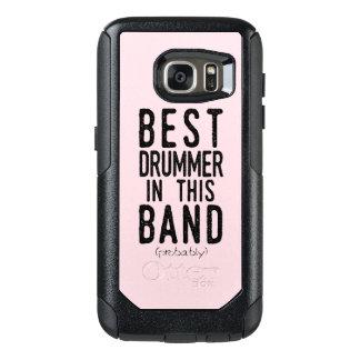 Best Drummer (probably) (blk) OtterBox Samsung Galaxy S7 Case