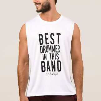 Best Drummer (probably) (blk) Tank Top
