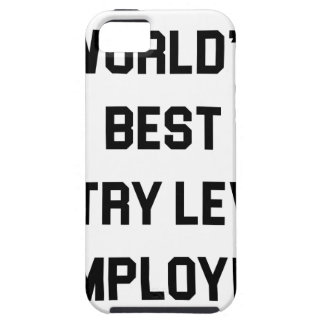 Best Entry Level Employee iPhone 5 Cover